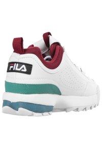 Fila - Trainers - white/green/bordeaux - 3