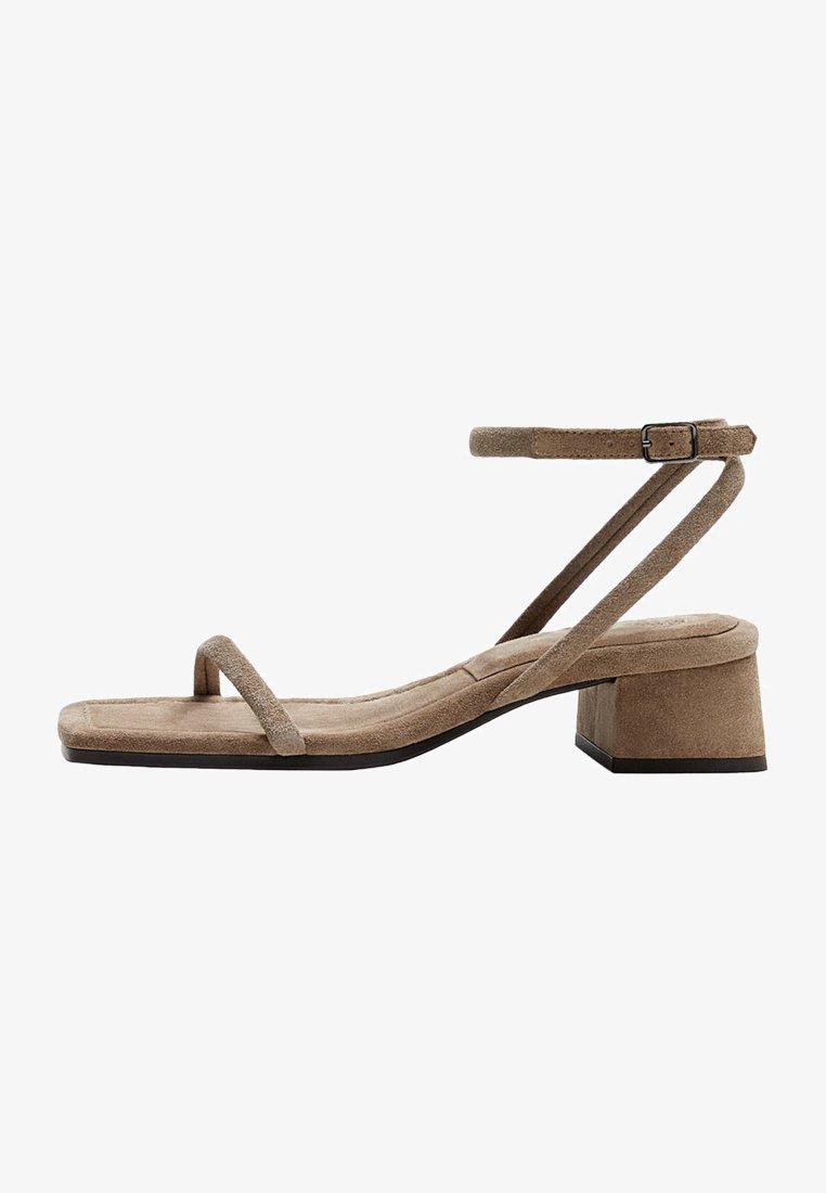 Massimo Dutti - Sandals - brown