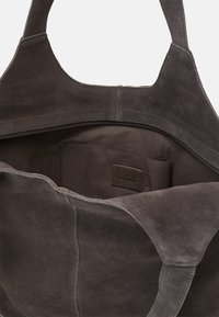 Anna Field - LEATHER - Tote bag - anthracite - 2