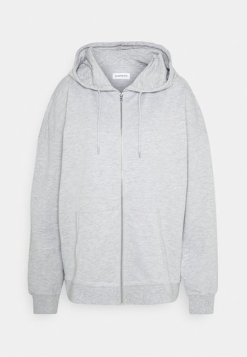REGULAR FIT ZIP UP HOODIE JACKET
