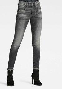 G-Star - LHANA SKINNY - Jeans Skinny Fit - vintage basalt - 0