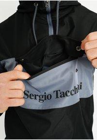 sergio tacchini - LANGDON - Windbreaker - blk/flint - 3