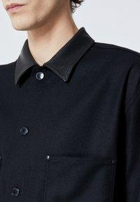 The Kooples - COL CUIR - Shirt - black - 4