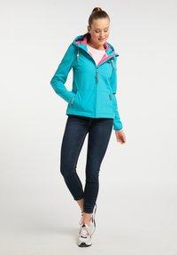 Schmuddelwedda - Outdoor jacket - turquoise - 1