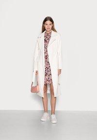 ONLY - ONLSKYE SMOCK DRESS - Day dress - rose browntonal - 1