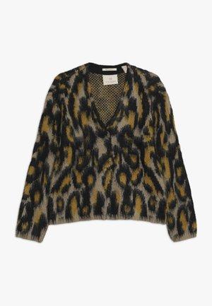 LONGER LENGTH JACQUARD PATTERN - Sweatshirt - multi-coloured