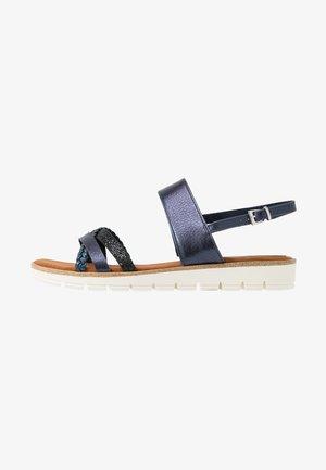 Sandales - navy metallic