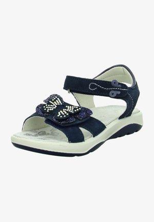 Walking sandals - navy/blau