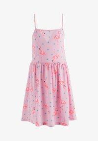 DeFacto - SUMMER - Jersey dress - pink - 0