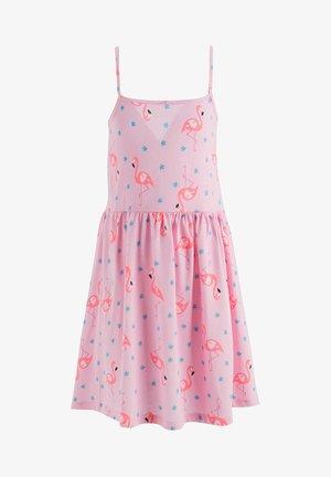 SUMMER - Jersey dress - pink