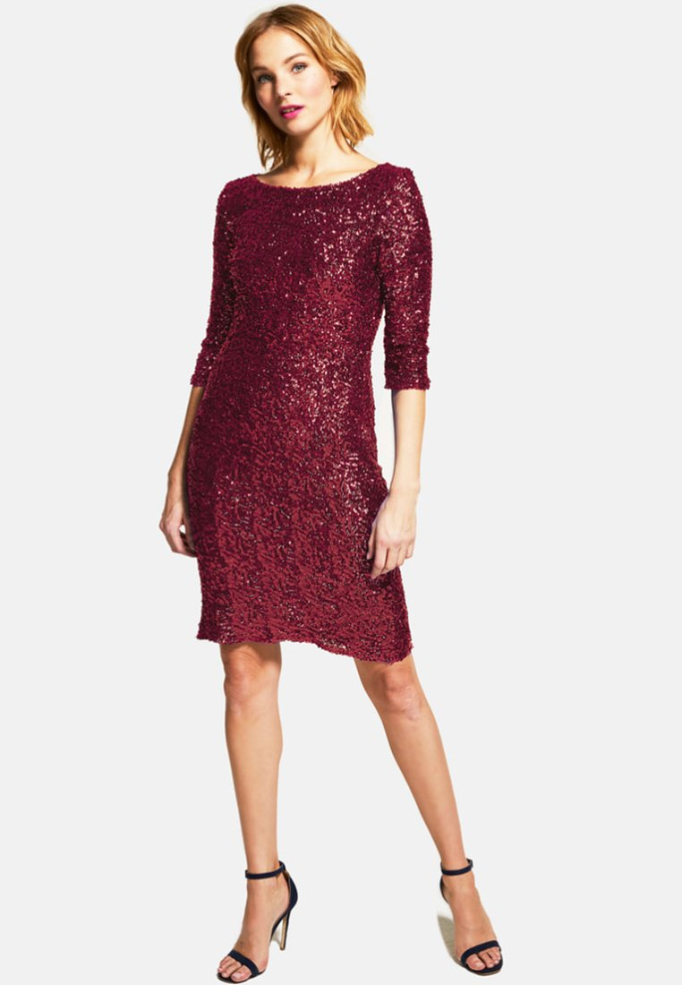 HotSquash - Cocktail dress / Party dress - dark red