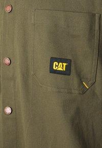 Caterpillar - CAT SHIRT - Camisa - military - 2