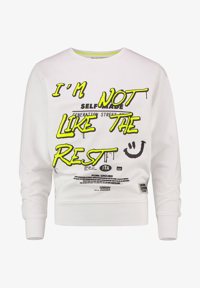 NAZIO - Sweatshirt - real white