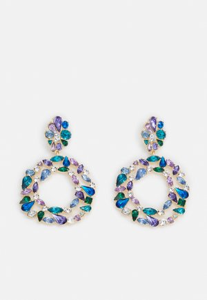 LOTHIRI - Earrings - purple/multi/gold-coloured