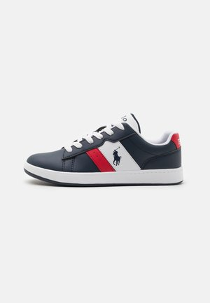 OAKVIEW UNISEX - Sneakers laag - navy smooth/red/navy
