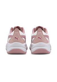 Puma - CILIA - Sneakers basse - white-foxglove-peachskin - 3