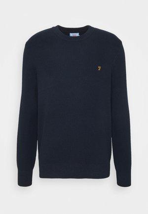 HORACE CREW - Pullover - true navy