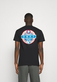 Obey Clothing - PURVEYORS OF DISSENT - Print T-shirt - black - 2