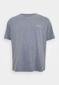 s.Oliver - BIG - Basic T-shirt - blue melange - 0