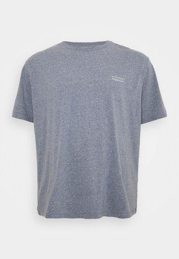 BIG - Basic T-shirt - blue melange