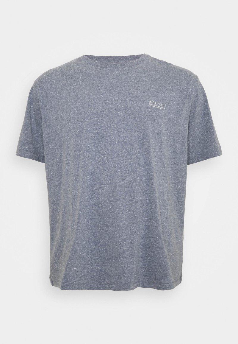 s.Oliver - BIG - Basic T-shirt - blue melange