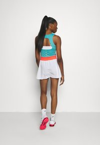 ASICS - TENNIS DRESS - Jersey dress - techno cyan - 2