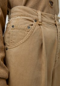 PULL&BEAR - Kalhoty - brown - 6