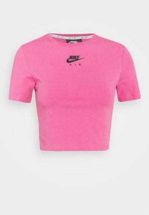 AIR CROP - T-shirt imprimé - pinksicle/black