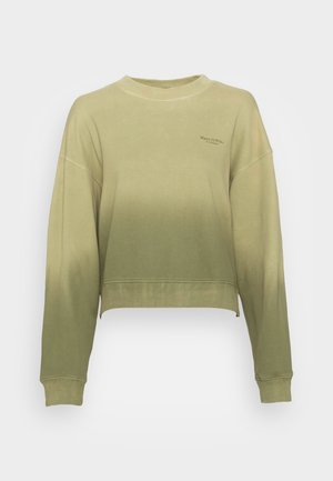 ROUND NECK MODERN COPPED FIT - Sweater - multi/green shades