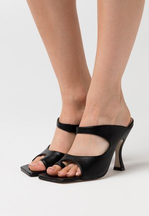 NINA - High Heel Sandalette - black