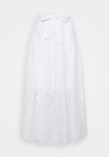BIARRITZ - Áčková sukně - ivory