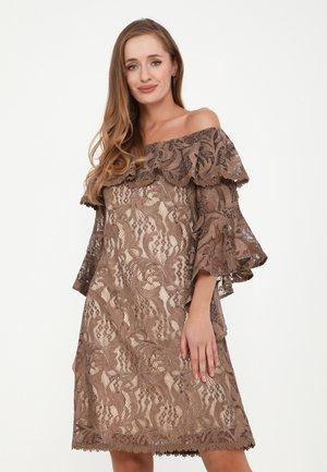 SALLY - Cocktail dress / Party dress - braun
