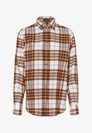 Button-down blouse - nougat hellblau