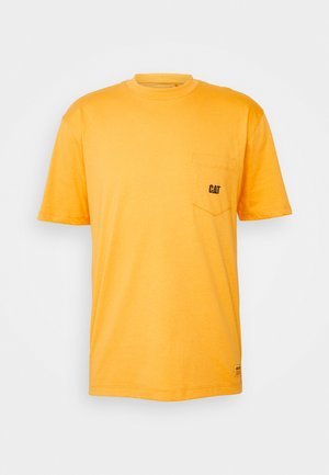 BASIC POCKET  - T-shirts - yellow