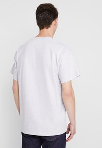Carhartt WIP - AMERICAN SCRIPT  - T-shirt basique - ash heather - 2