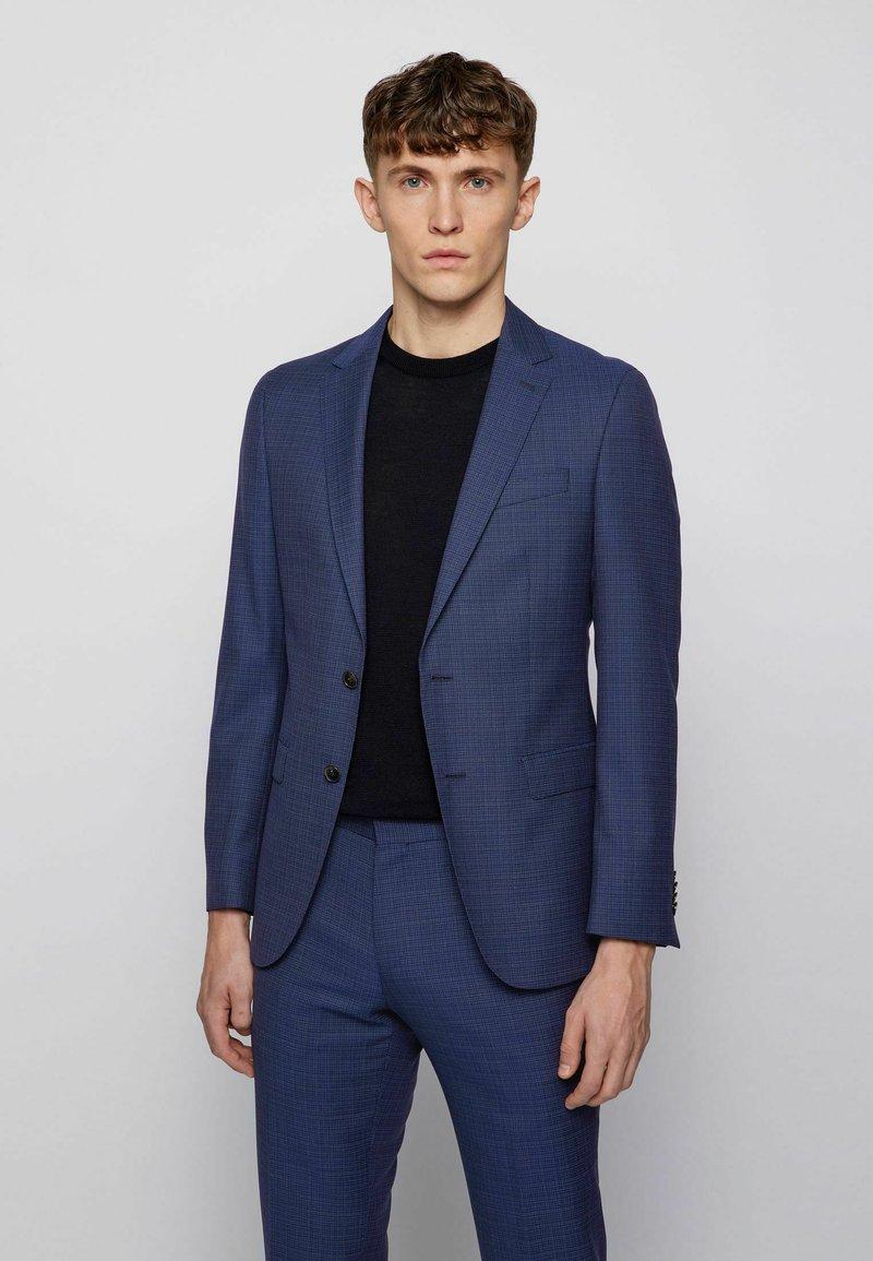 BOSS - Suit jacket - open blue