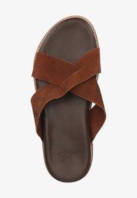 Sansibar Shoes - Muiltjes - dunkelbraun 41 - 1
