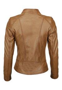 Mustang - BLANCA - Leren jas - cognac - 1