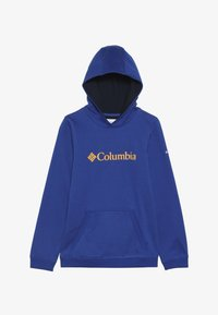 Columbia - BASIC LOGO YOUTH HOODIE - Mikina s kapucí - azul/collegiate navy - 3