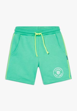 BOYS  - Tracksuit bottoms - green