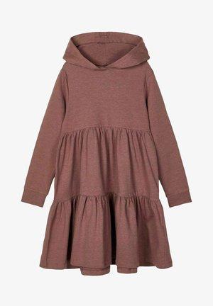 ABGESTUFTES - Jumper dress - marron