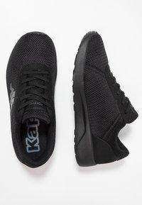 Kappa - TUNES - Scarpe da fitness - black - 1
