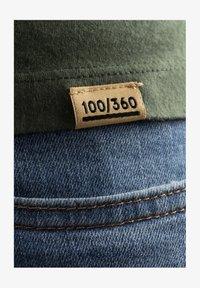 Liger - Basic T-shirt - military green - 5