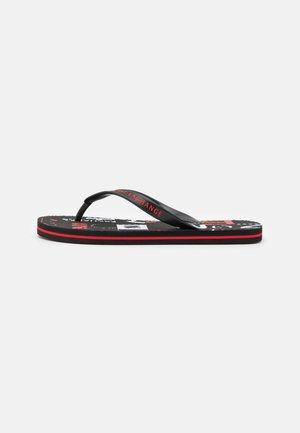 Sandály s odděleným palcem - white/black/red