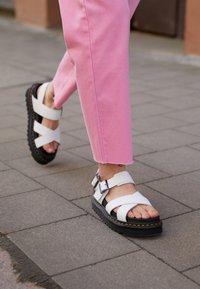 Dr. Martens - VOSS - Platform sandals - white hydro - 5
