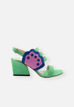 Sandály - mint green