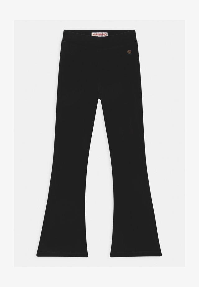 SHINNA FLARE - Bukser - deep black