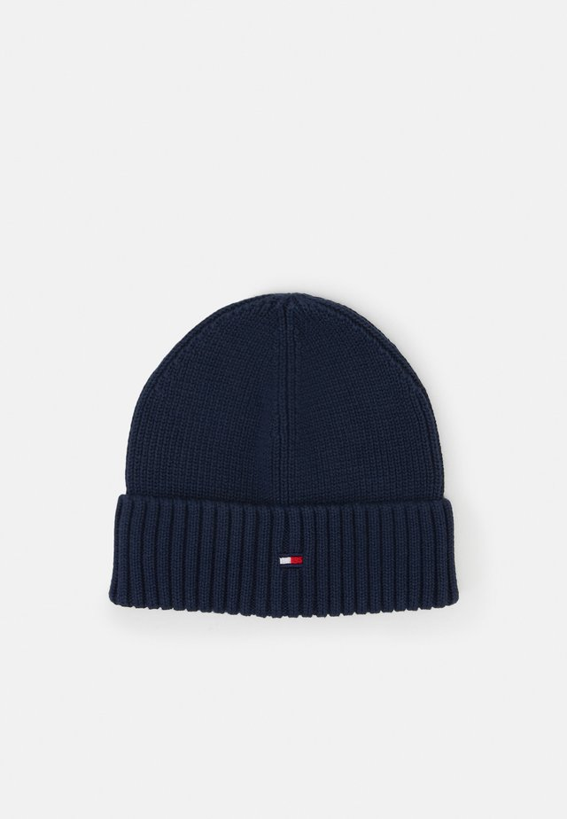 FLAG BEANIE - Bonnet - blue