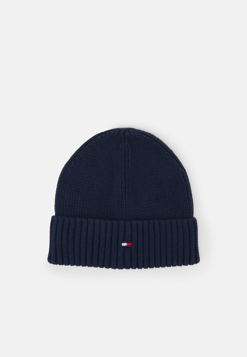 Tommy Hilfiger - FLAG BEANIE - Berretto - blue