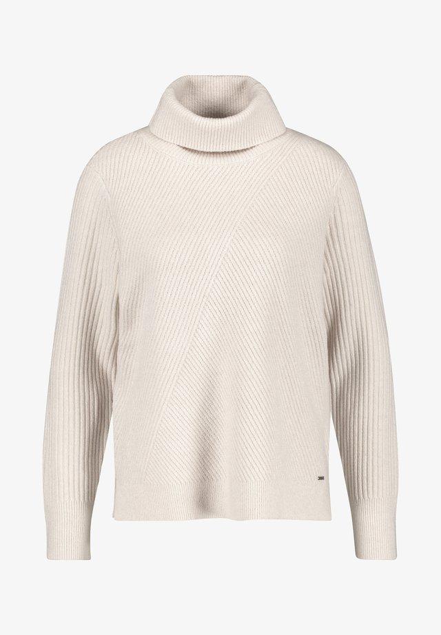 Pullover - winter white melange